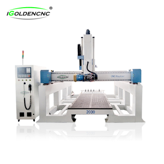 4 AXIS ATC Wood CNC Router