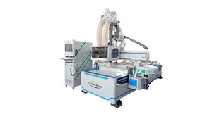 Fully automatic furniture manufacturing machine