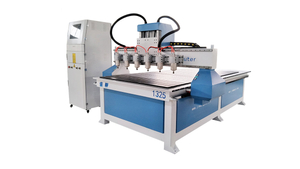 1-6 Multi Head Cnc Router Wood Carving Machine