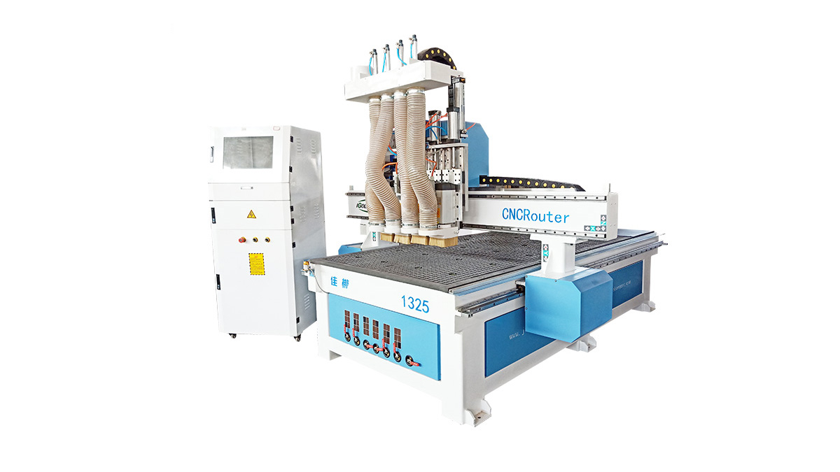Four-process Woodworking Cnc Router Engraving Machine