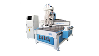 Three-process Woodworking Cnc Router Engraving Machine