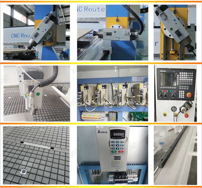 Four-axis engraving machine with adsorption block