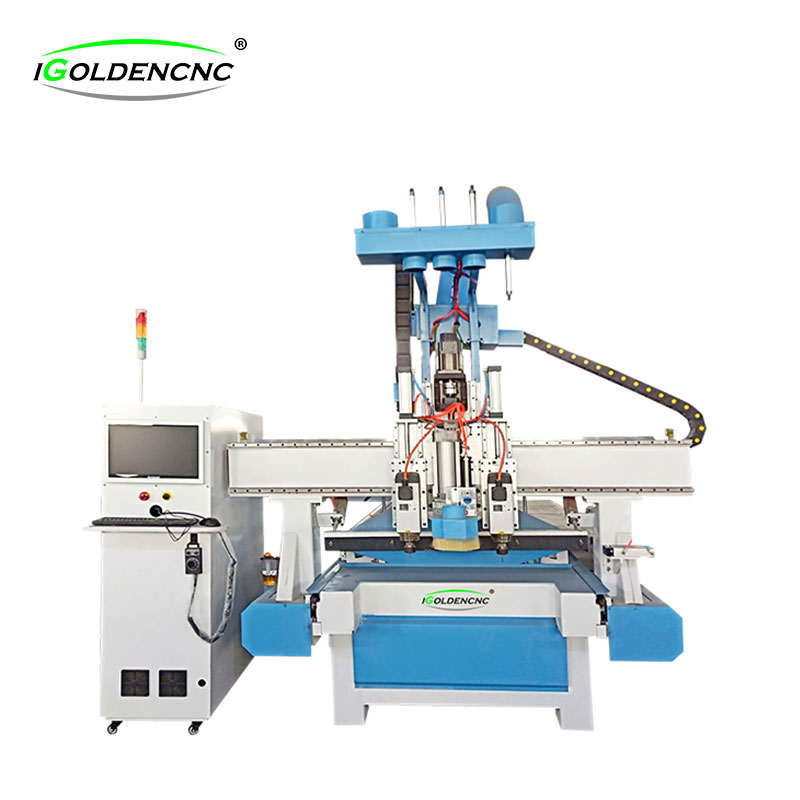 Furniture making machine with Dual Spindle and Drilling