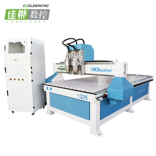 Tow-head Cnc Router Engraving Machine