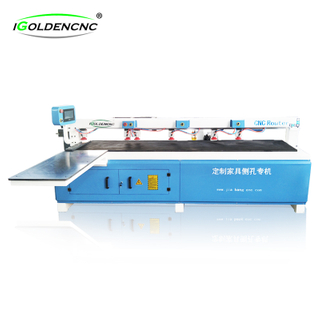 Drilling panel woodworking cnc router