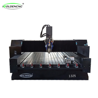 Stone engraving machine with rotating shaft